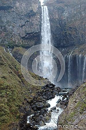 Free Kegon Falls In Nikko, Japan Stock Images - 1542734