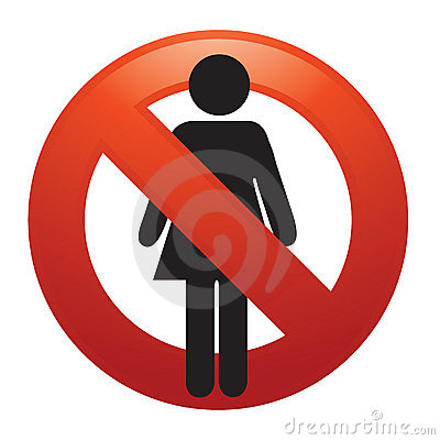 Kein weibliches Zeichen
