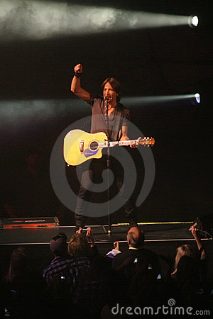 Keith Urban Editorial Photo