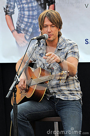 Keith Urban Editorial Image