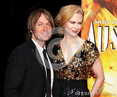 Keith Urban and Nicole Kidman Editorial Photography
