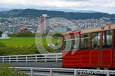 Kelburn Cable Car, Wellington New Zealand.