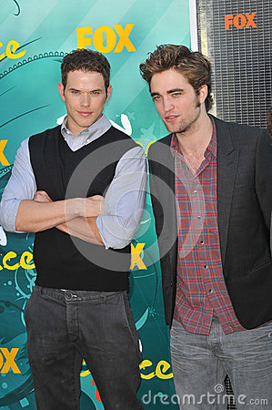Kellan Lutz,Robert Pattinson Editorial Image