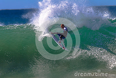 Kelly Slater Jeffreys Bay Surfing Editorial Photography
