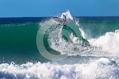 Kelly Slater Jeffreys Bay Surfing Editorial Photo