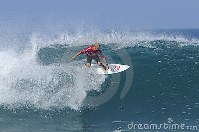 Kelly slater tube Editorial Photography
