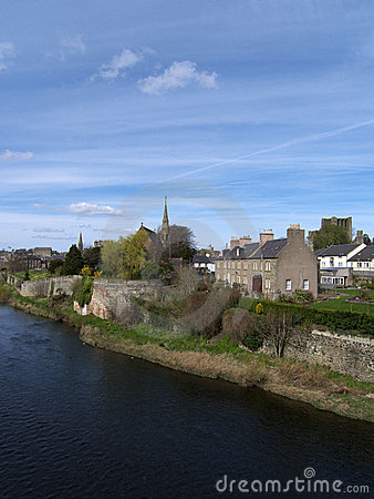 Kelso, Borders County Scotland