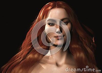 Keltische Frau - 001