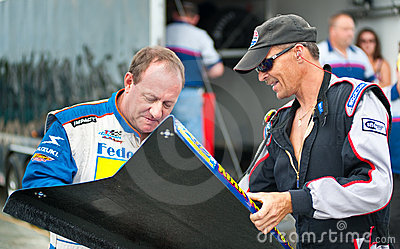 Ken Schrader Signing Autograph Editorial Image