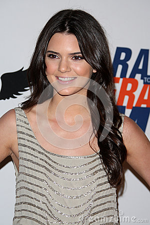 Kendall Jenner arrives at the 19th Annual Race to Erase MS gala Editorial Image
