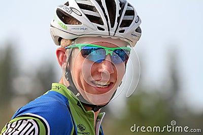 Kendel Johnson - Cyclocross Pro Editorial Stock Photo