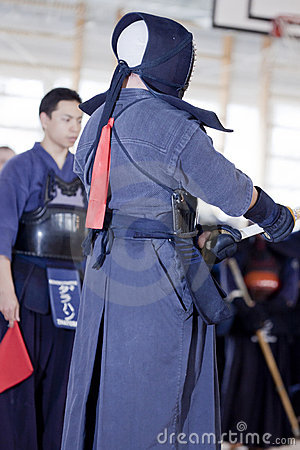 Free Kendo Sport Royalty Free Stock Image - 19224196