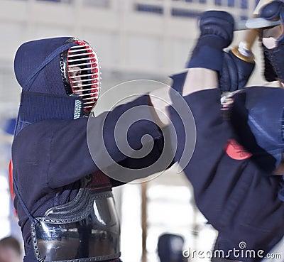 Free Kendo Sport Royalty Free Stock Photos - 19224468