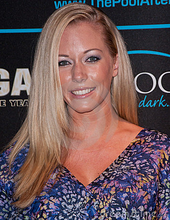Kendra Wilkinson Editorial Stock Photo