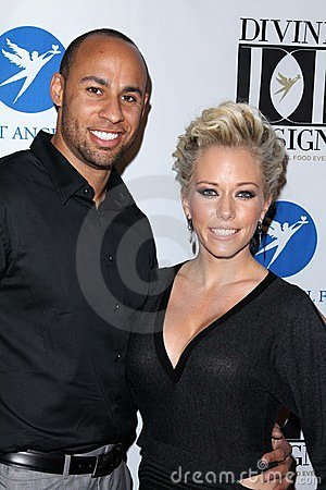 Kendra Wilkinson, Hank Baskett Editorial Photo