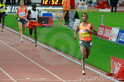 Kenenisa Bekele Editorial Stock Image