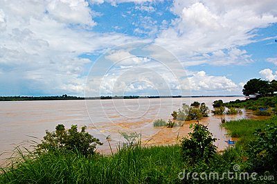 Kengkaboa,Kong River,Thailand,Mukdahan