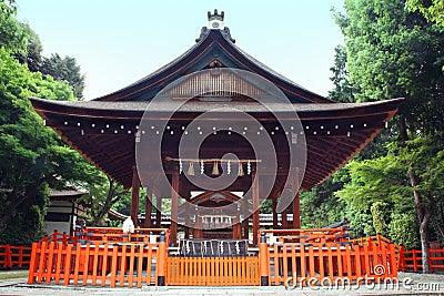 Kenkun shrine Kyoto Japan