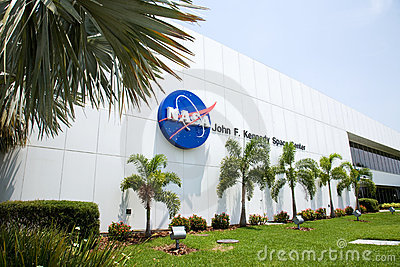 Kennedy Space Center in Flordia Editorial Image