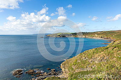 Kenneggy Cove Cornwall England near Praa Sands and Penzance
