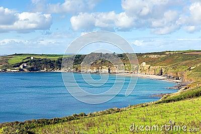 Kenneggy Sand Cornwall England near Praa Sands and Penzance