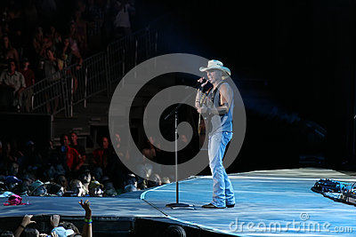 Kenny Chesney Editorial Stock Image