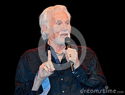 Kenny Rogers Editorial Photo