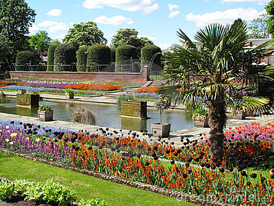 Kensington Palace Formal Garden