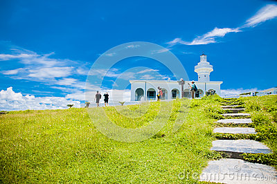 Kenting Lighthouse Editorial Stock Photo