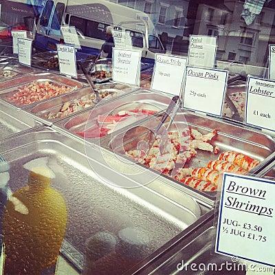 Kentish Seafood Stall