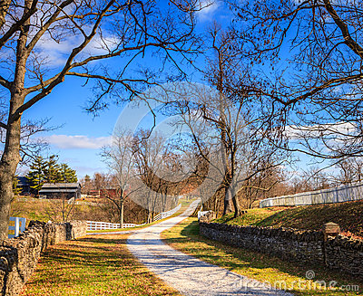 Kentucky country scene
