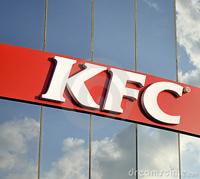 Kentucky Fried Chicken Editorial Image