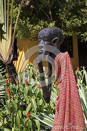 Kenya Masai wood carving