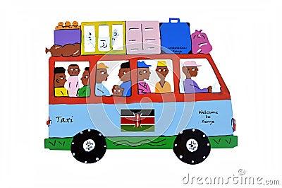 Kenya traveling.