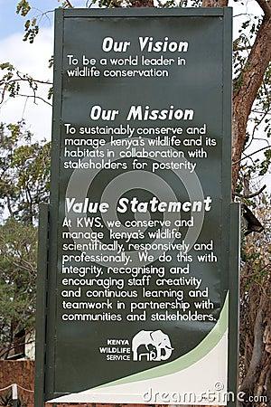 Kenya wildlife service Editorial Photography