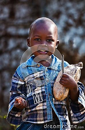 Kenyan african child Editorial Photography
