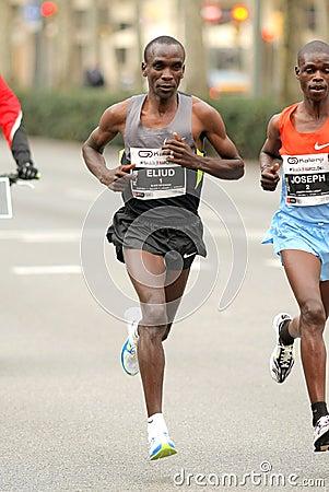 Kenyan Half Distance Runner Eliud Kipchoge Editorial Stock ...