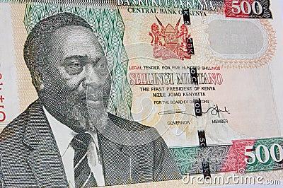 Kenyatta banknote, Kenya