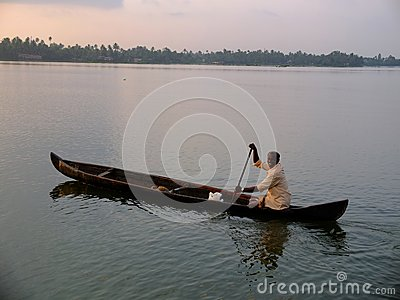Kerala Backwaters, India Editorial Image
