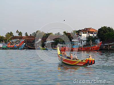 Kerala Backwaters, India Editorial Photography