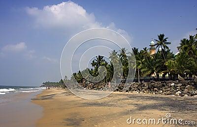 Kerala beach, India