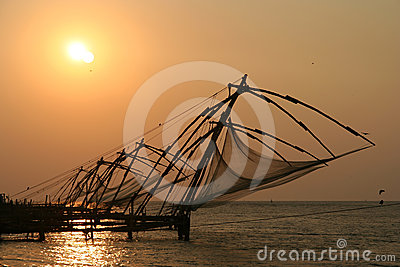 Kerala fishing nets
