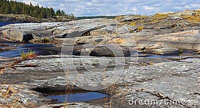 Kerelian landscape, Russia