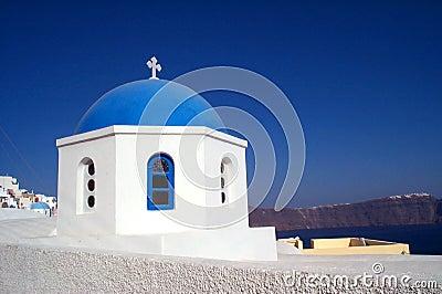 Kerk in Santorini