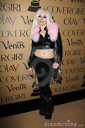 Kerli at Grammy Glam, MyHouse, Hollywood, CA 02-07-12 Editorial Stock Photo