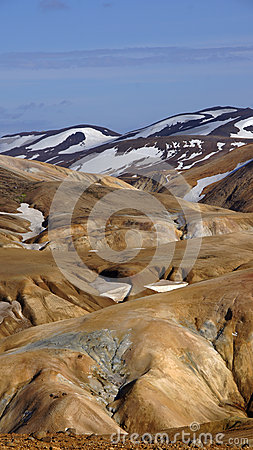Kerlingarfjöll mountains standing