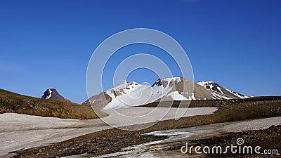 Kerlingarfjöll mountain and glacier
