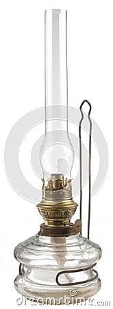A kerosene lamp