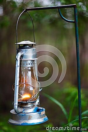 Free Kerosene Lamp Stock Photo - 46059270