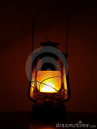 Free Kerosene Oil Lantern Royalty Free Stock Photography - 1299177